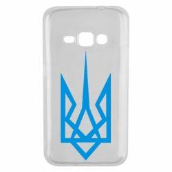 Чехол для Samsung J1 2016 Герб України загострений - FatLine