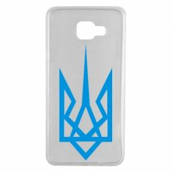 Чехол для Samsung A7 2016 Герб України загострений