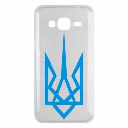 Чехол для Samsung J3 2016 Герб України загострений - FatLine