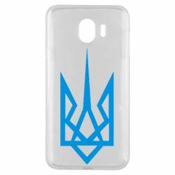 Чехол для Samsung J4 Герб України загострений - FatLine