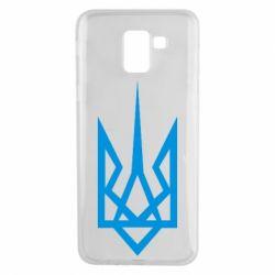 Чехол для Samsung J6 Герб України загострений - FatLine