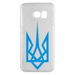 Чехол для Samsung S6 EDGE Герб України загострений