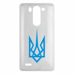 Чехол для LG G3 mini/G3s Герб України загострений - FatLine