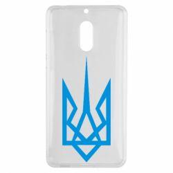 Чехол для Nokia 6 Герб України загострений - FatLine