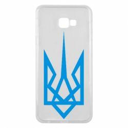 Чехол для Samsung J4 Plus 2018 Герб України загострений - FatLine