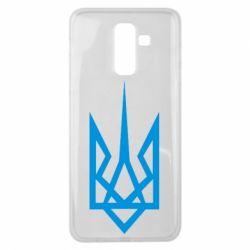 Чехол для Samsung J8 2018 Герб України загострений