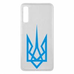 Чехол для Samsung A7 2018 Герб України загострений
