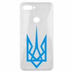 Чехол для Xiaomi Mi8 Lite Герб України загострений - FatLine