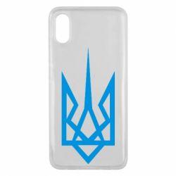 Чехол для Xiaomi Mi8 Pro Герб України загострений - FatLine