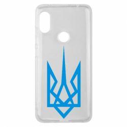 Чехол для Xiaomi Redmi Note 6 Pro Герб України загострений