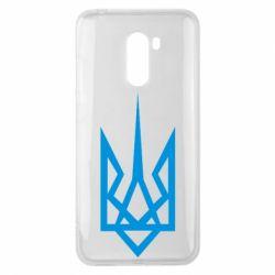 Чехол для Xiaomi Pocophone F1 Герб України загострений - FatLine