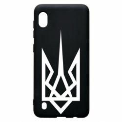 Чехол для Samsung A10 Герб України загострений