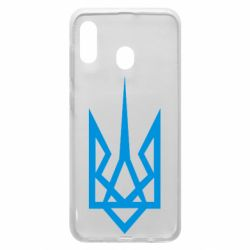 Чехол для Samsung A20 Герб України загострений