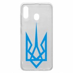 Чехол для Samsung A30 Герб України загострений