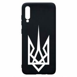 Чохол для Samsung A70 Герб України загострений
