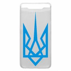 Чехол для Samsung A80 Герб України загострений