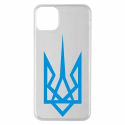 Чехол для iPhone 11 Pro Max Герб України загострений