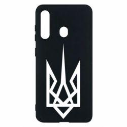 Чехол для Samsung M40 Герб України загострений