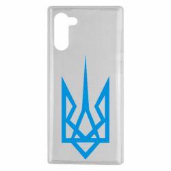 Чехол для Samsung Note 10 Герб України загострений