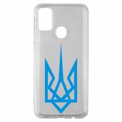 Чохол для Samsung M30s Герб України загострений