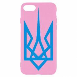 Чехол для iPhone 8 Герб України загострений
