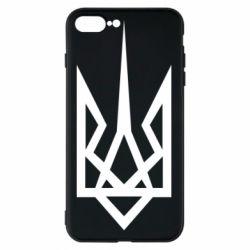 Чехол для iPhone 8 Plus Герб України загострений - FatLine