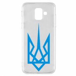 Чехол для Samsung A6 2018 Герб України загострений