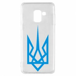 Чехол для Samsung A8 2018 Герб України загострений