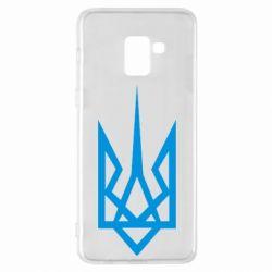 Чехол для Samsung A8+ 2018 Герб України загострений