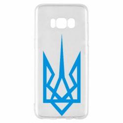 Чехол для Samsung S8 Герб України загострений - FatLine