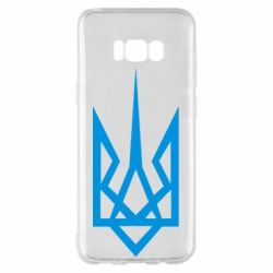Чехол для Samsung S8+ Герб України загострений - FatLine