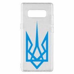 Чехол для Samsung Note 8 Герб України загострений - FatLine