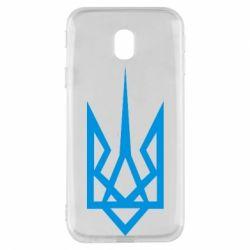 Чехол для Samsung J3 2017 Герб України загострений - FatLine