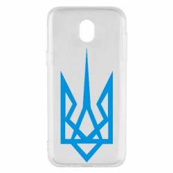 Чехол для Samsung J5 2017 Герб України загострений