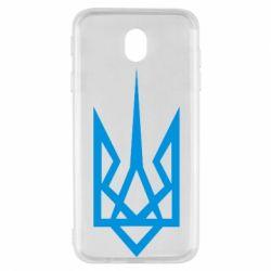 Чехол для Samsung J7 2017 Герб України загострений