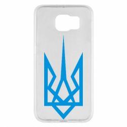 Чехол для Samsung S6 Герб України загострений - FatLine