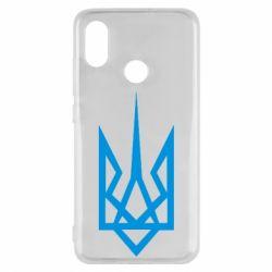 Чехол для Xiaomi Mi8 Герб України загострений - FatLine