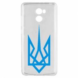 Чехол для Xiaomi Redmi 4 Герб України загострений - FatLine