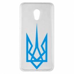 Чехол для Meizu Pro 6 Plus Герб України загострений - FatLine