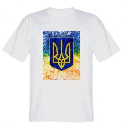 Футболка Герб Украины цвет