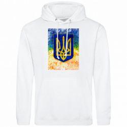 Мужская толстовка Герб Украины цвет