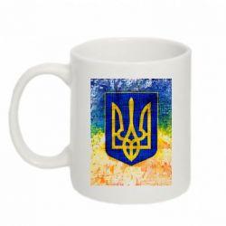 Кружка 320ml Герб Украины цвет