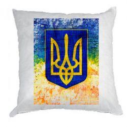 Подушка Герб Украины цвет
