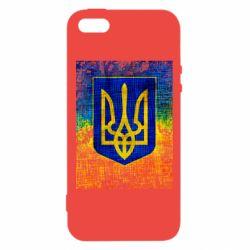 Купить Герб України, Чехол для iPhone5/5S/SE Герб Украины цвет, FatLine