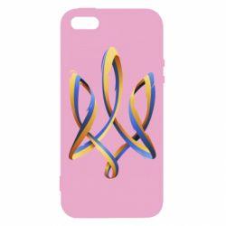 Купить Герб України, Чехол для iPhone5/5S/SE Герб Украины Лента, FatLine