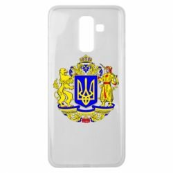 Чохол для Samsung J8 2018 Герб України повнокольоровий