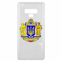 Чехол для Samsung Note 9 Герб Украины полноцветный