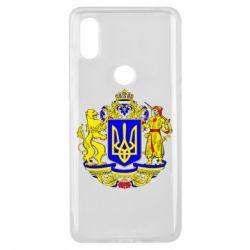 Чехол для Xiaomi Mi Mix 3 Герб Украины полноцветный
