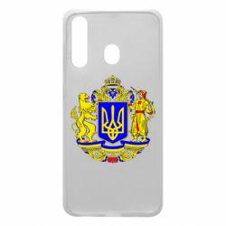 Чехол для Samsung A60 Герб Украины полноцветный
