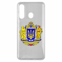 Чехол для Samsung M40 Герб Украины полноцветный